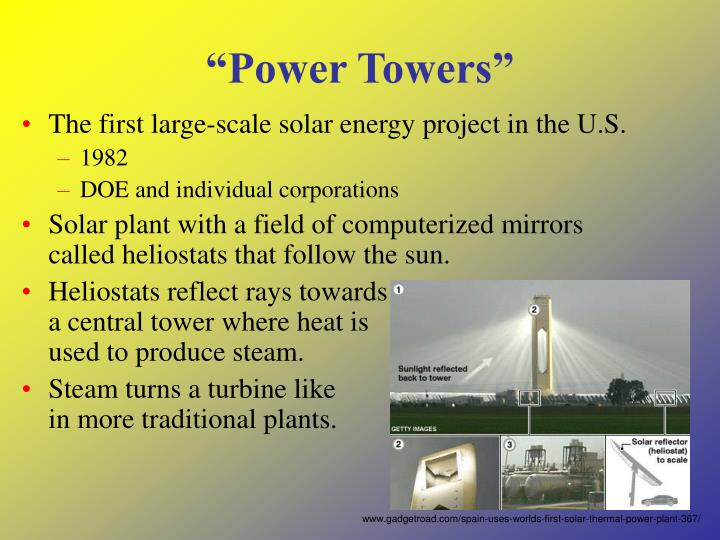 """Power Towers"""