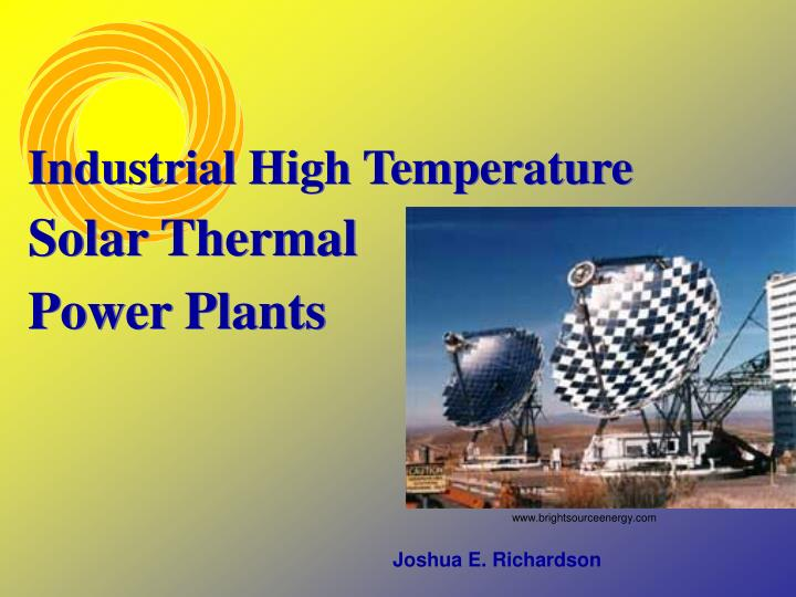 Industrial High Temperature