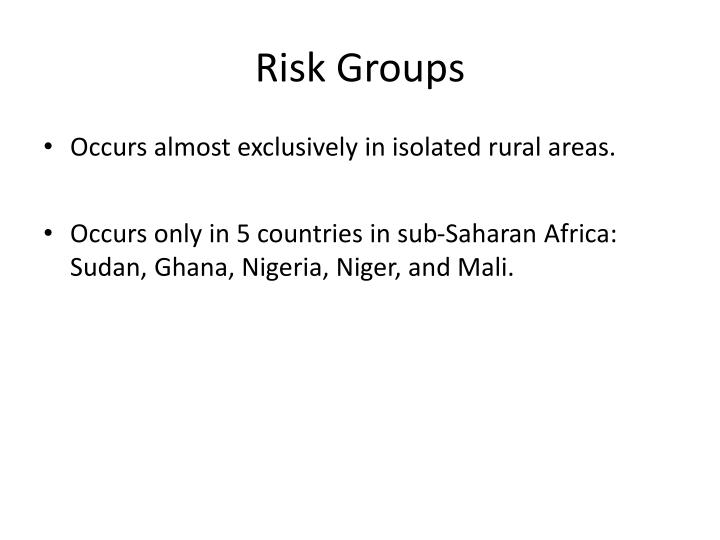 Risk Groups