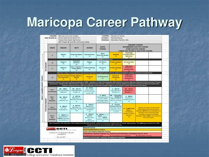 Maricopa Career Pathway