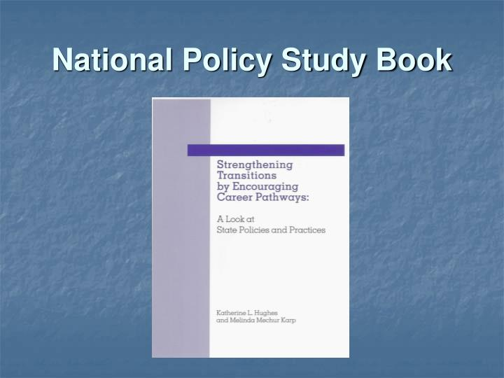 National Policy Study Book
