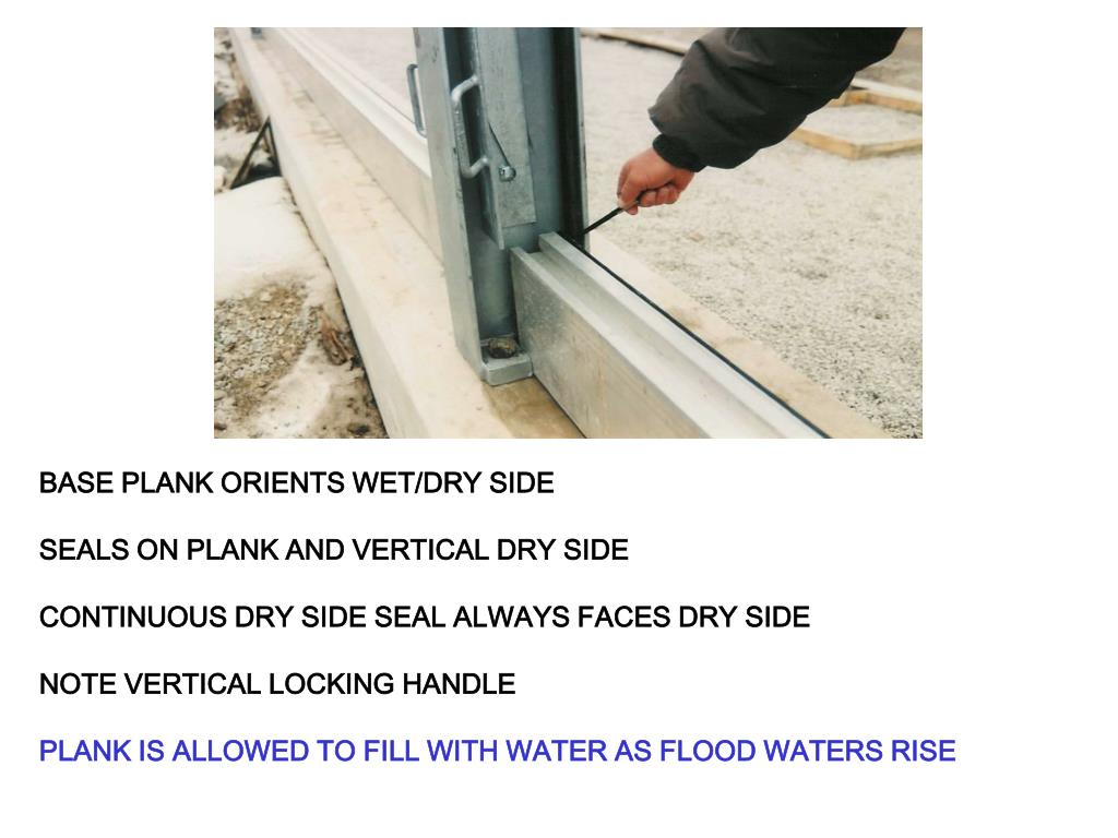 BASE PLANK ORIENTS WET/DRY SIDE