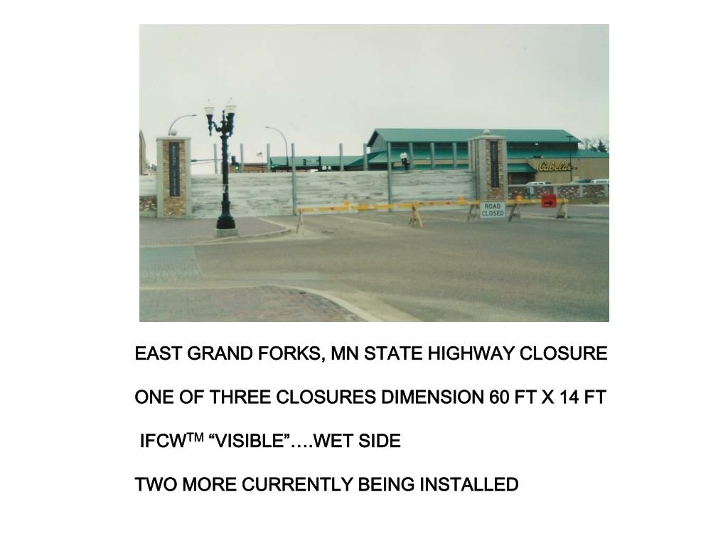 EAST GRAND FORKS, MN STATE HIGHWAY CLOSURE