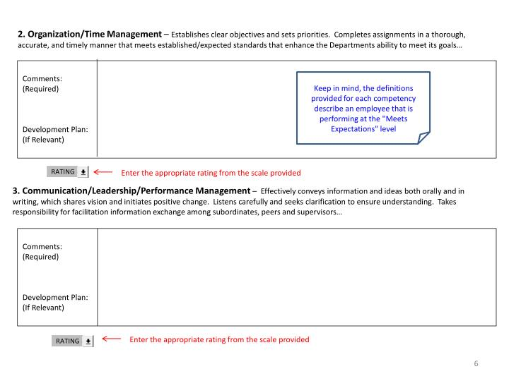 2. Organization/Time Management