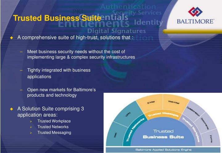 Trusted Business Suite