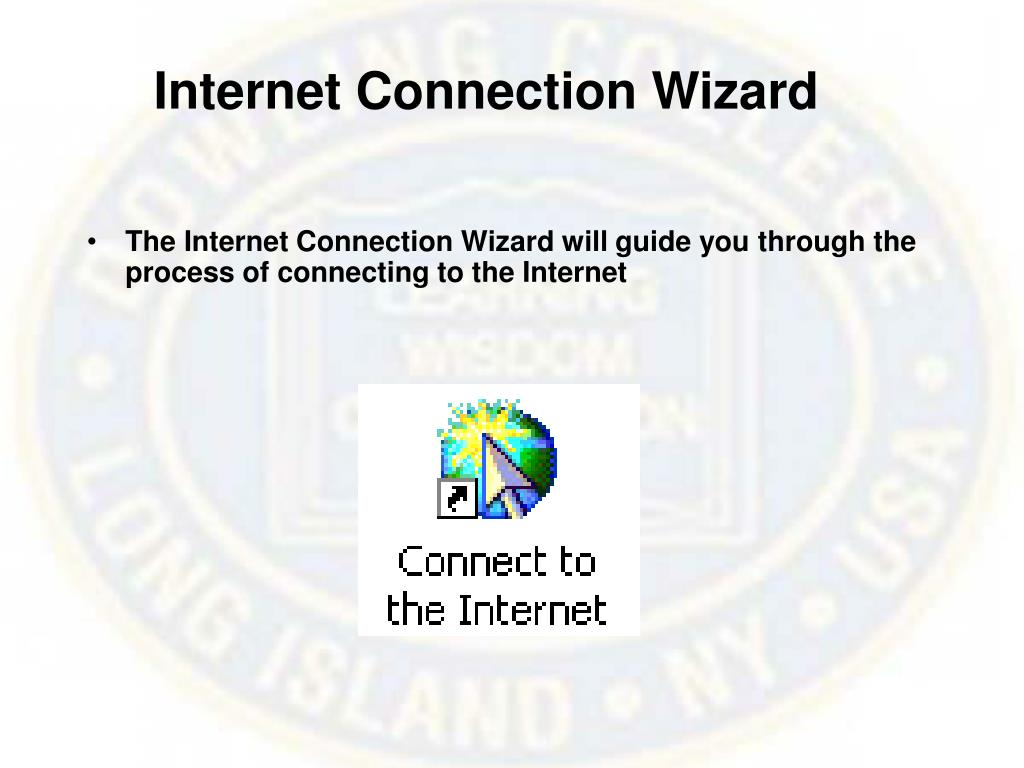 Internet Connection Wizard