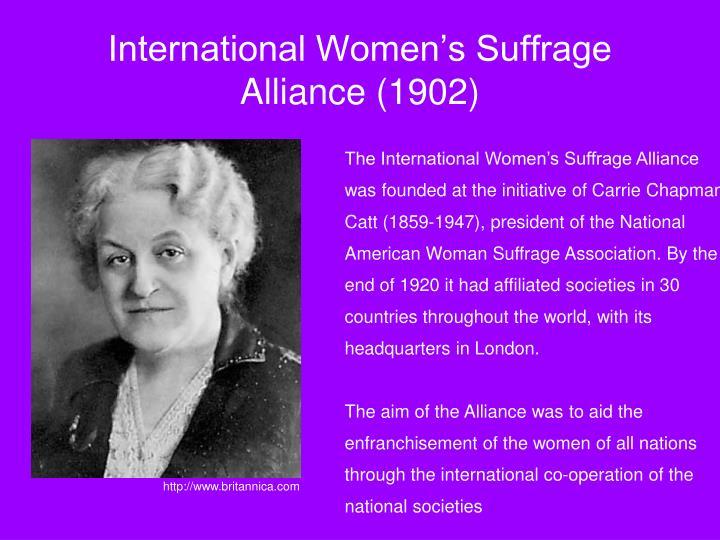 International Women's Suffrage Alliance (1902)