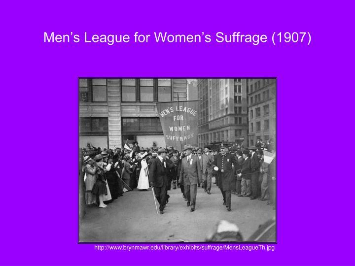 Men's League for Women's Suffrage (1907)