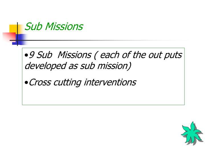 Sub Missions