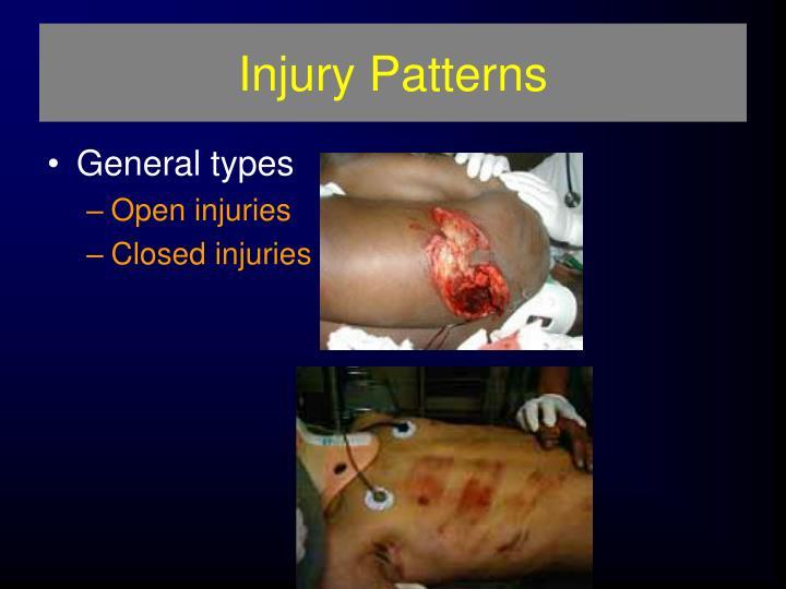 Injury Patterns