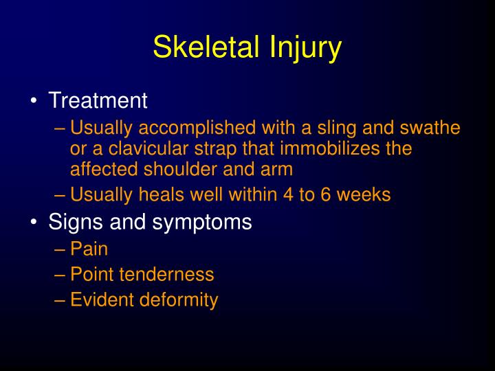 Skeletal Injury