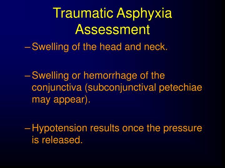 Traumatic Asphyxia