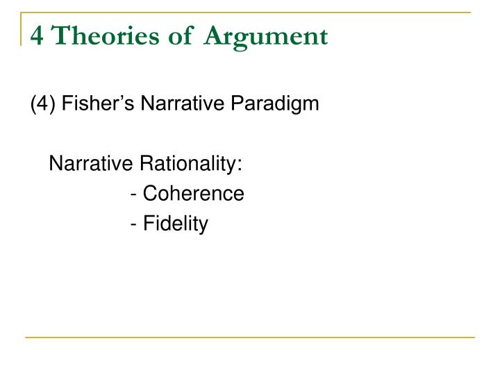 4 Theories of Argument