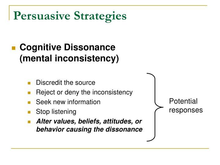 Persuasive Strategies