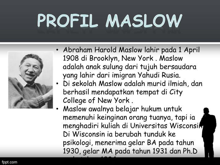 Profil Maslow