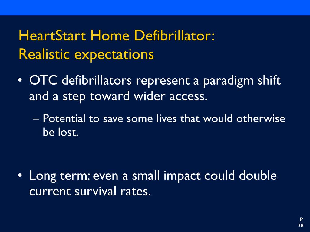 HeartStart Home Defibrillator: