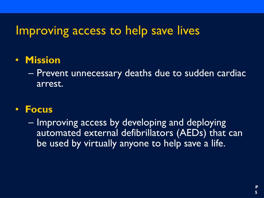 Improving access to help save lives