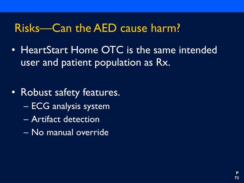 Risks—Can the AED cause harm?