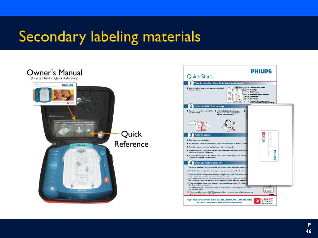 Secondary labeling materials