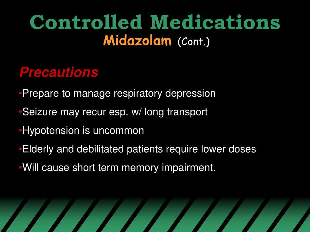 Controlled Medications