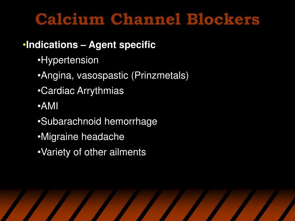 Calcium Channel Blockers