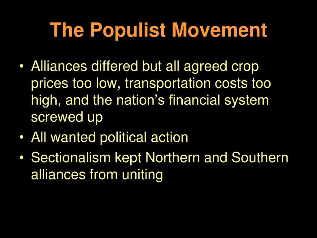 The Populist Movement