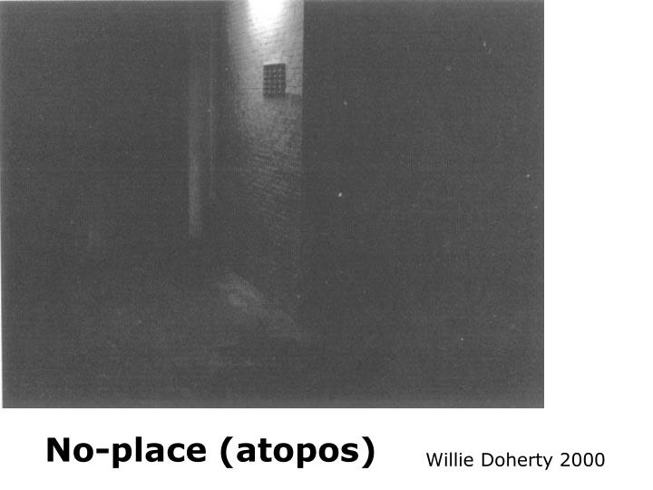 No-place (atopos)