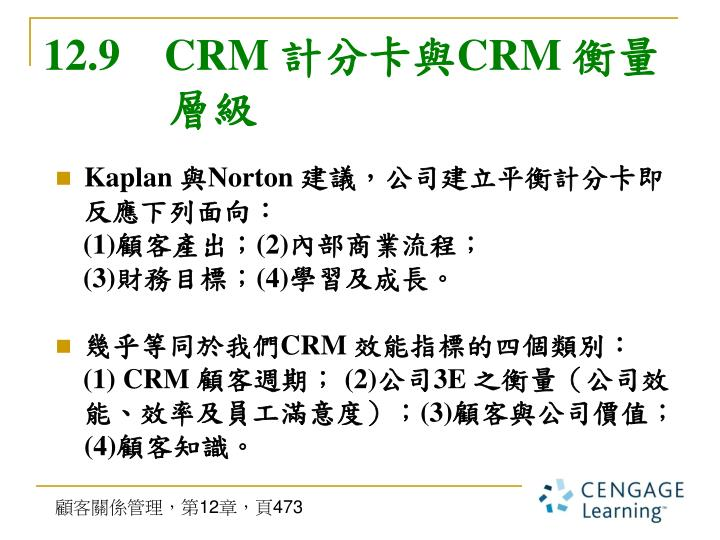 12.9    CRM