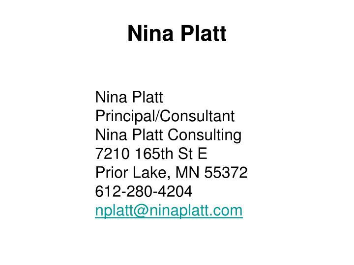 Nina Platt