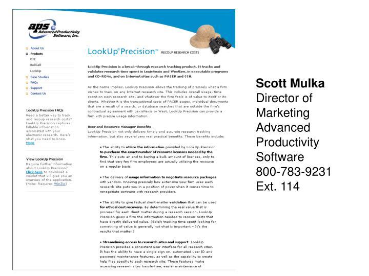 Scott Mulka