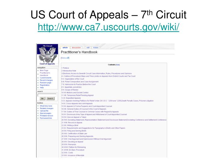 US Court of Appeals – 7