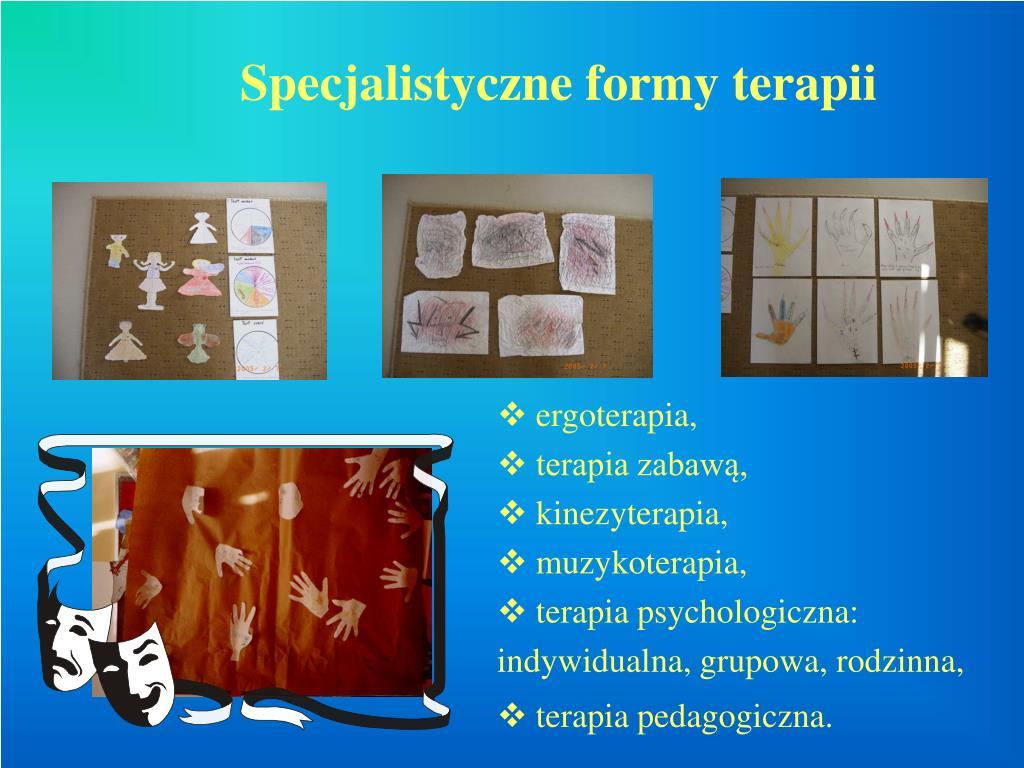 Specjalistyczne formy terapii