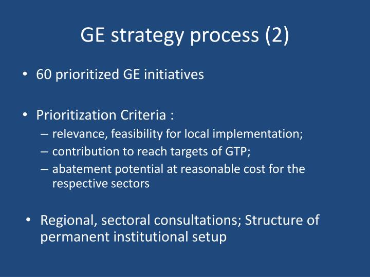 GE strategy process (2)