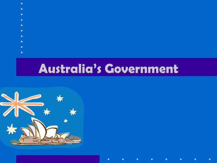 Australia s government