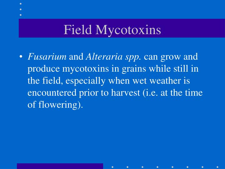 Field Mycotoxins