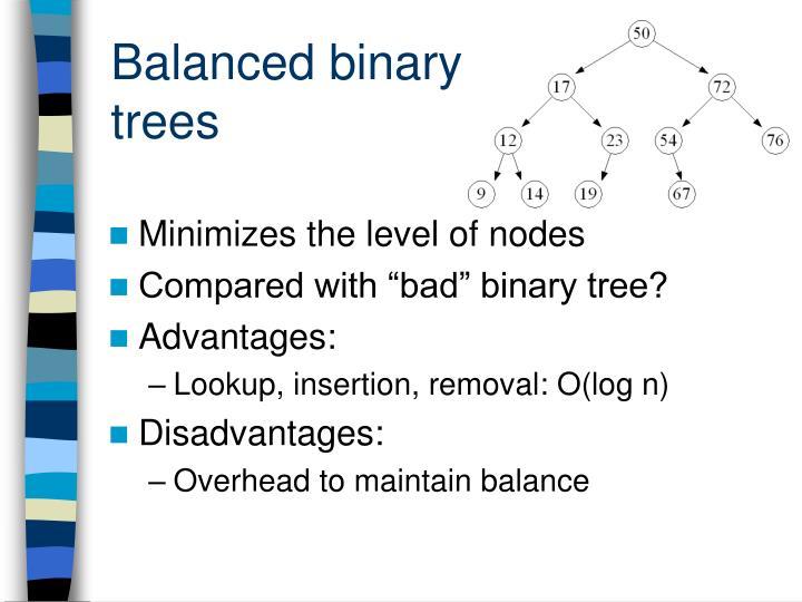 Balanced binary