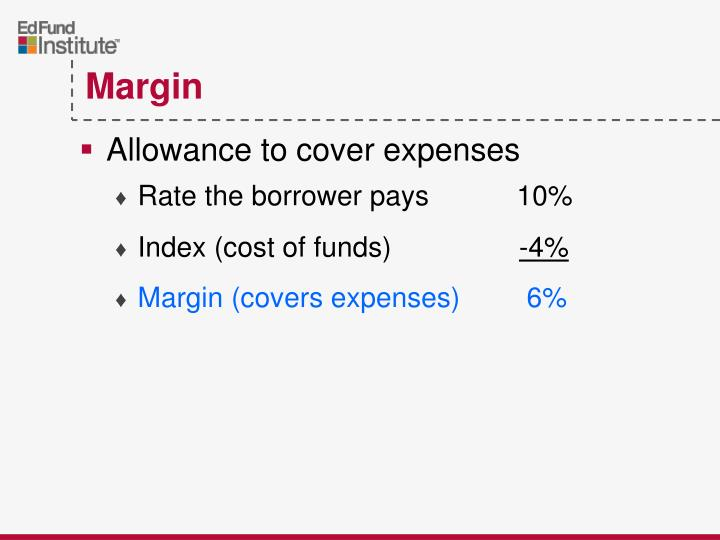 Allowance to cover expenses