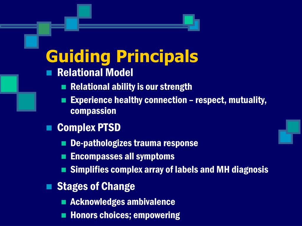 Guiding Principals