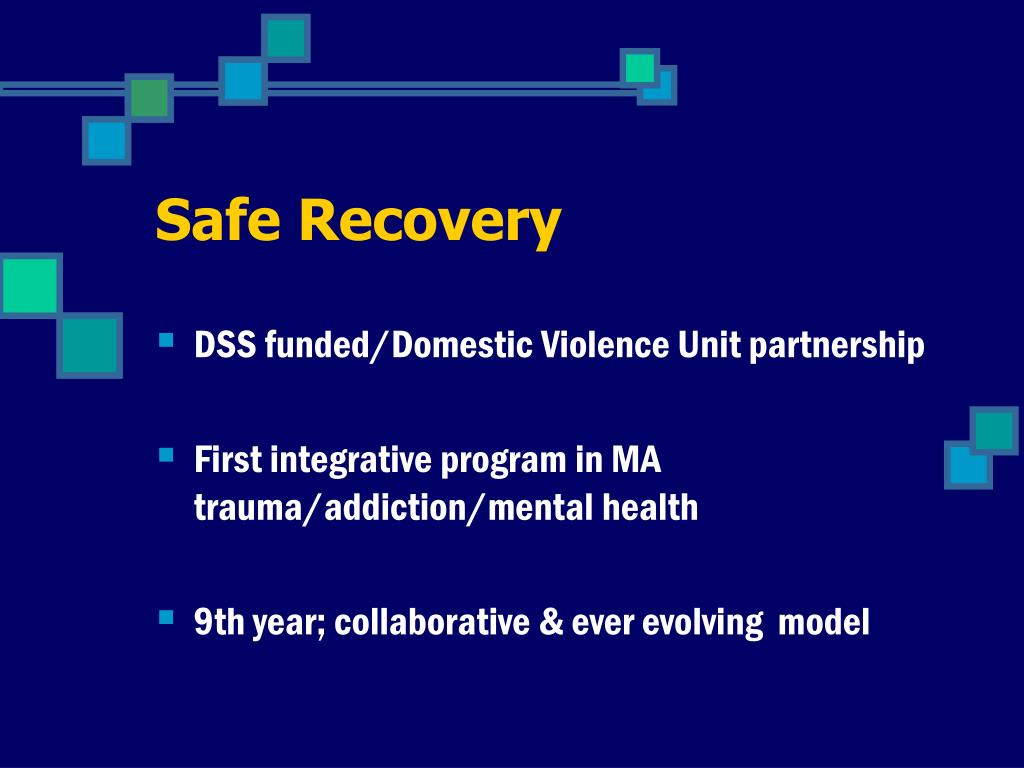 Safe Recovery