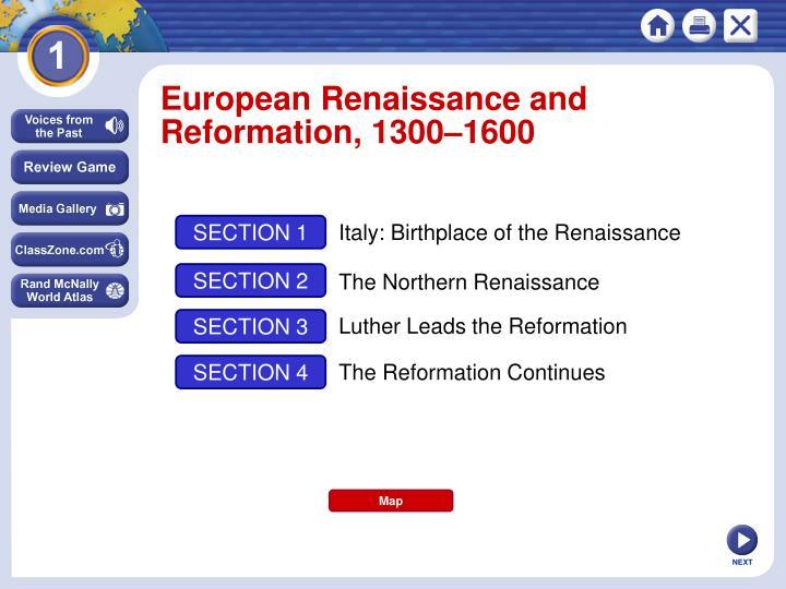 European Renaissance and