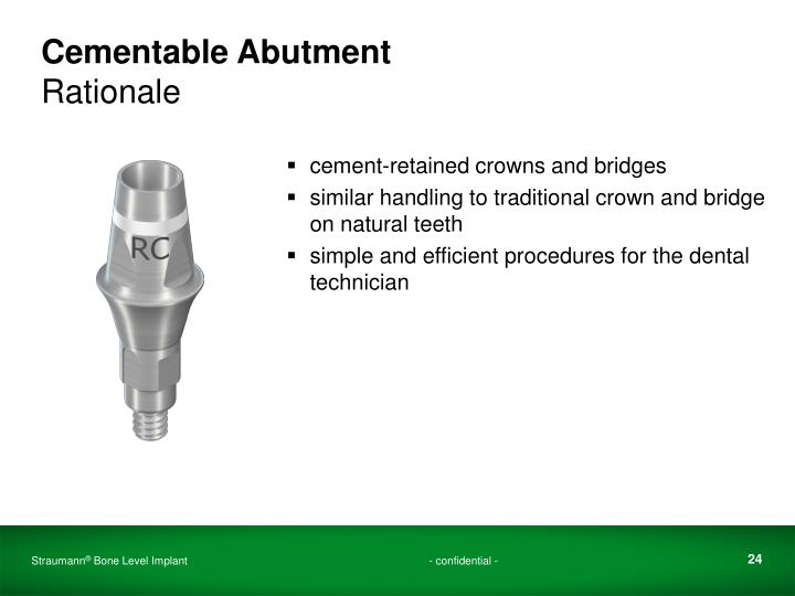 Cementable Abutment