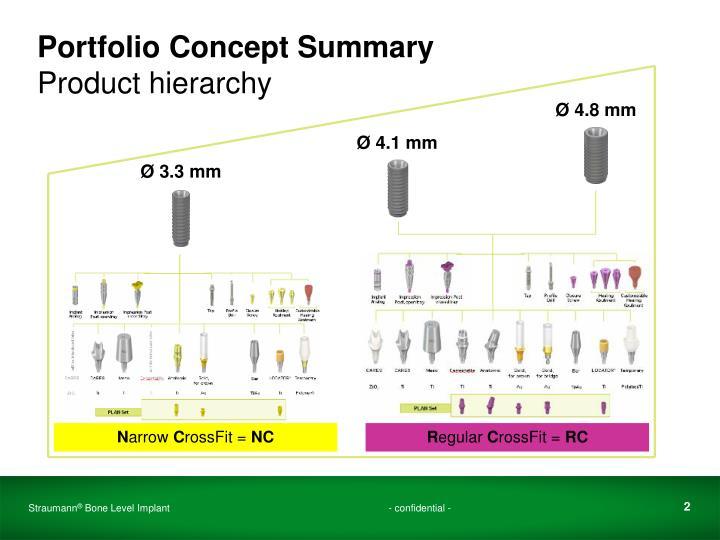 Portfolio Concept Summary
