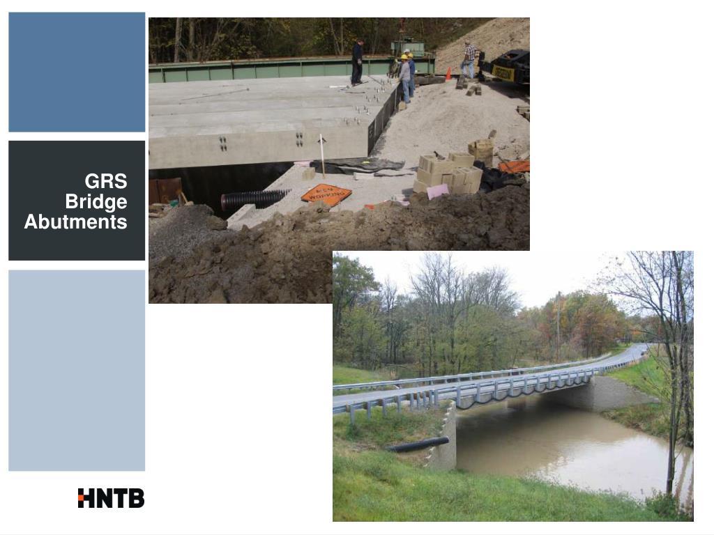 GRS Bridge Abutments