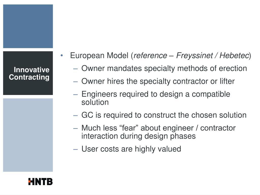 European Model (