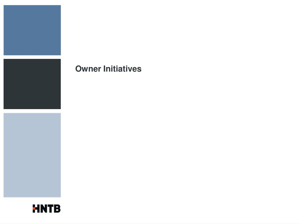 Owner Initiatives