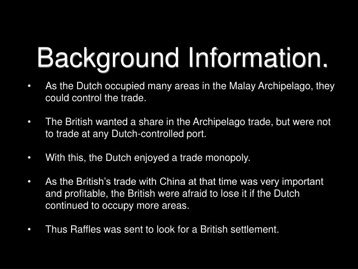 Background Information.