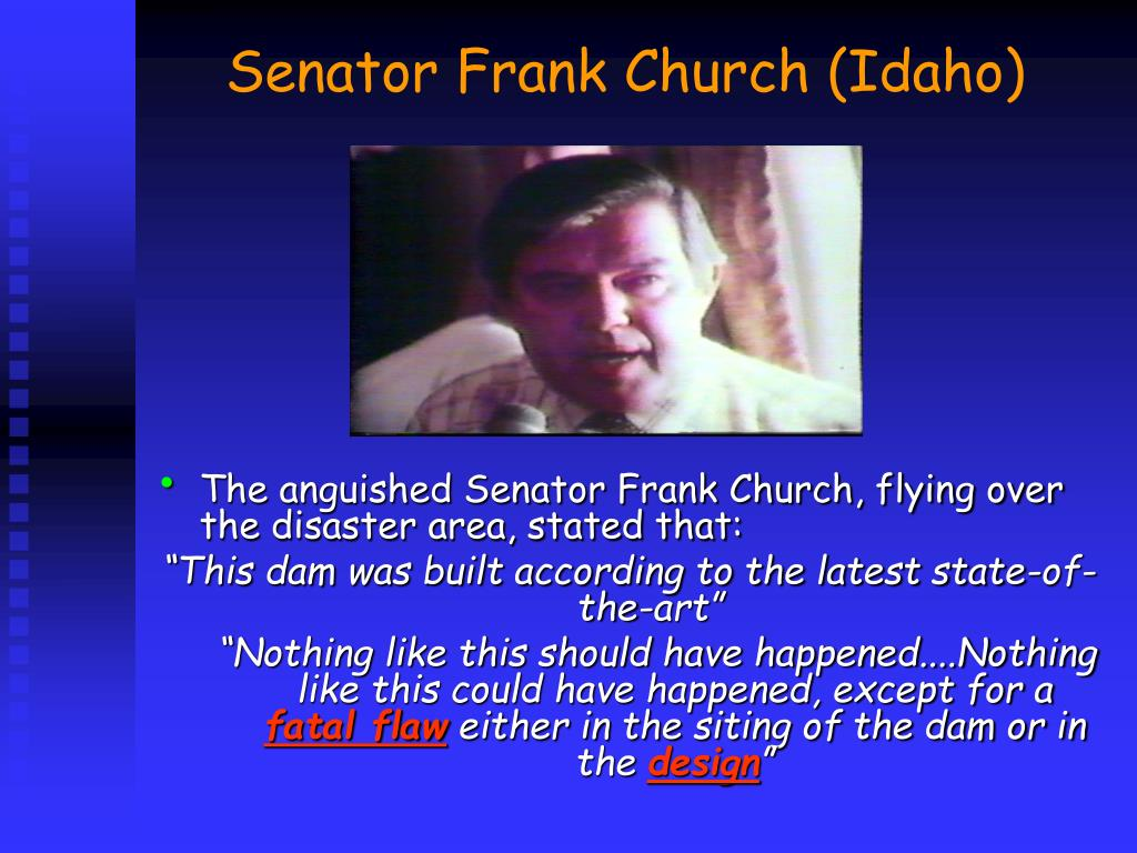 Senator Frank Church (Idaho)