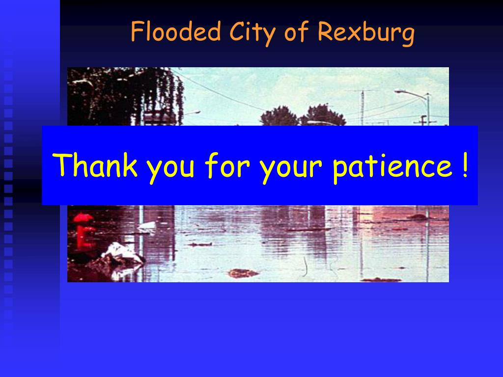 Flooded City of Rexburg