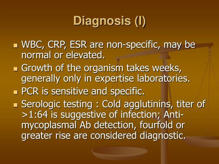 Diagnosis (I)