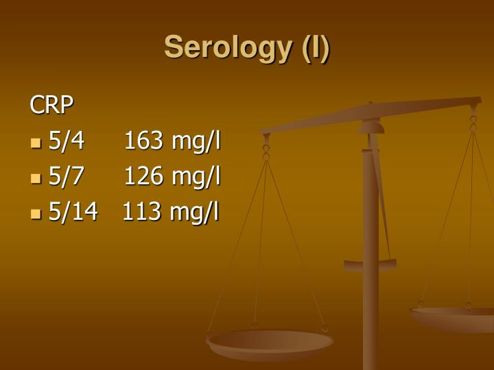 Serology (I)
